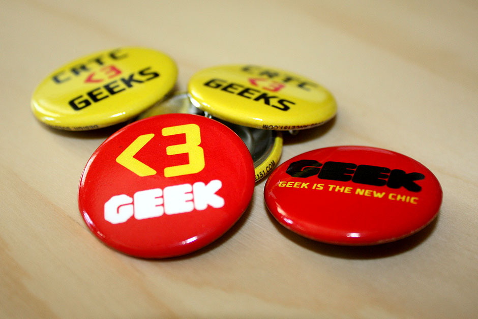CRTC Geek is the new chic