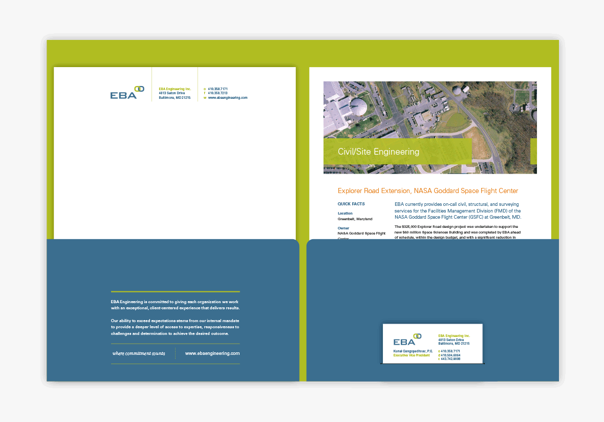 EBA Engineering Collateral