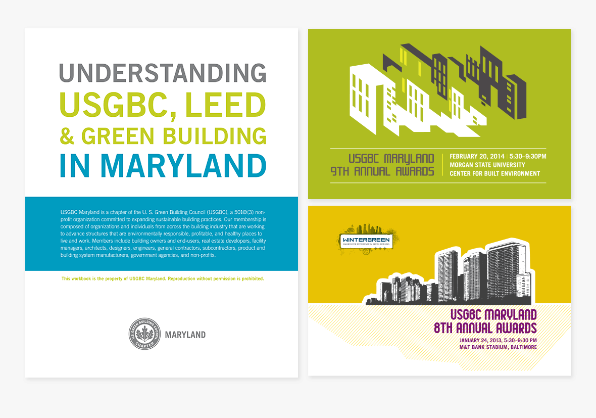 USGBC Maryland Branding and Marketing