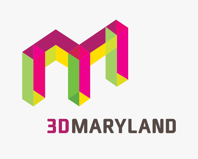 3D Maryland Logo Design