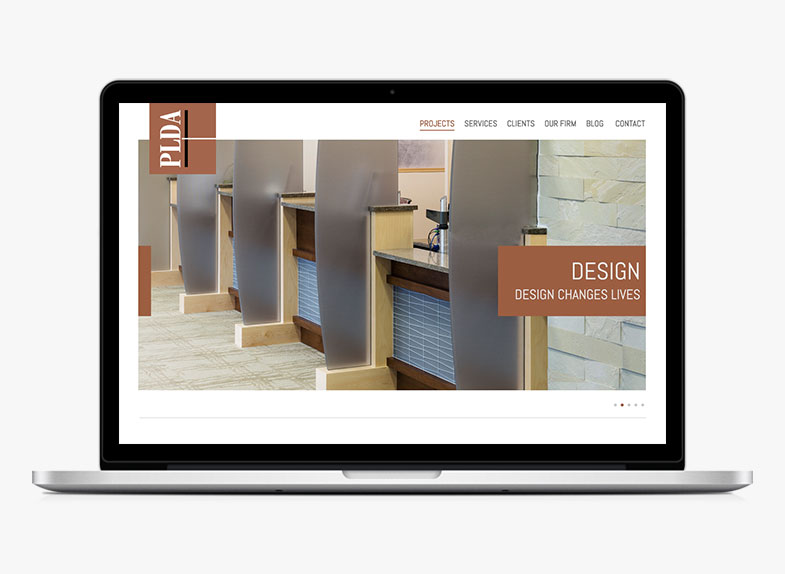 PLDA website design award