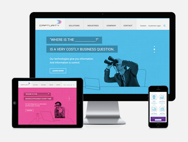 Capturity Responsive Web Design
