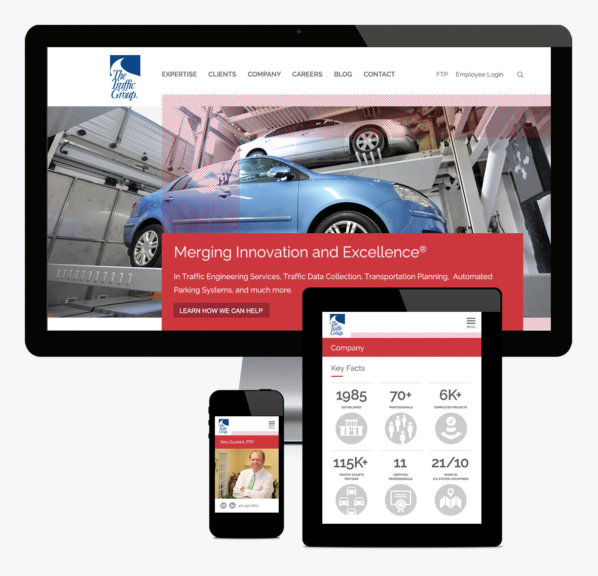The Traffic Group Responsive Website
