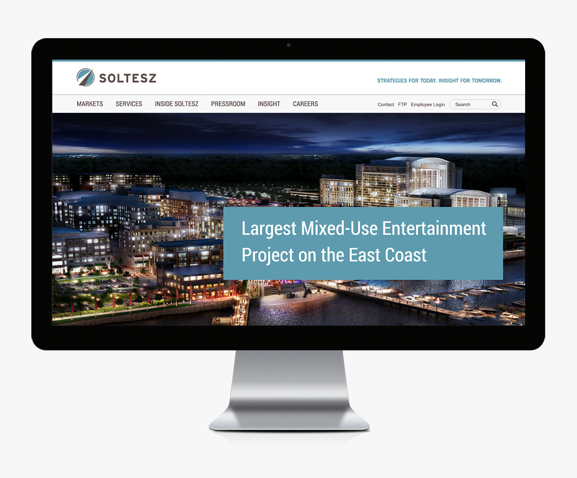 soltesz website redesign