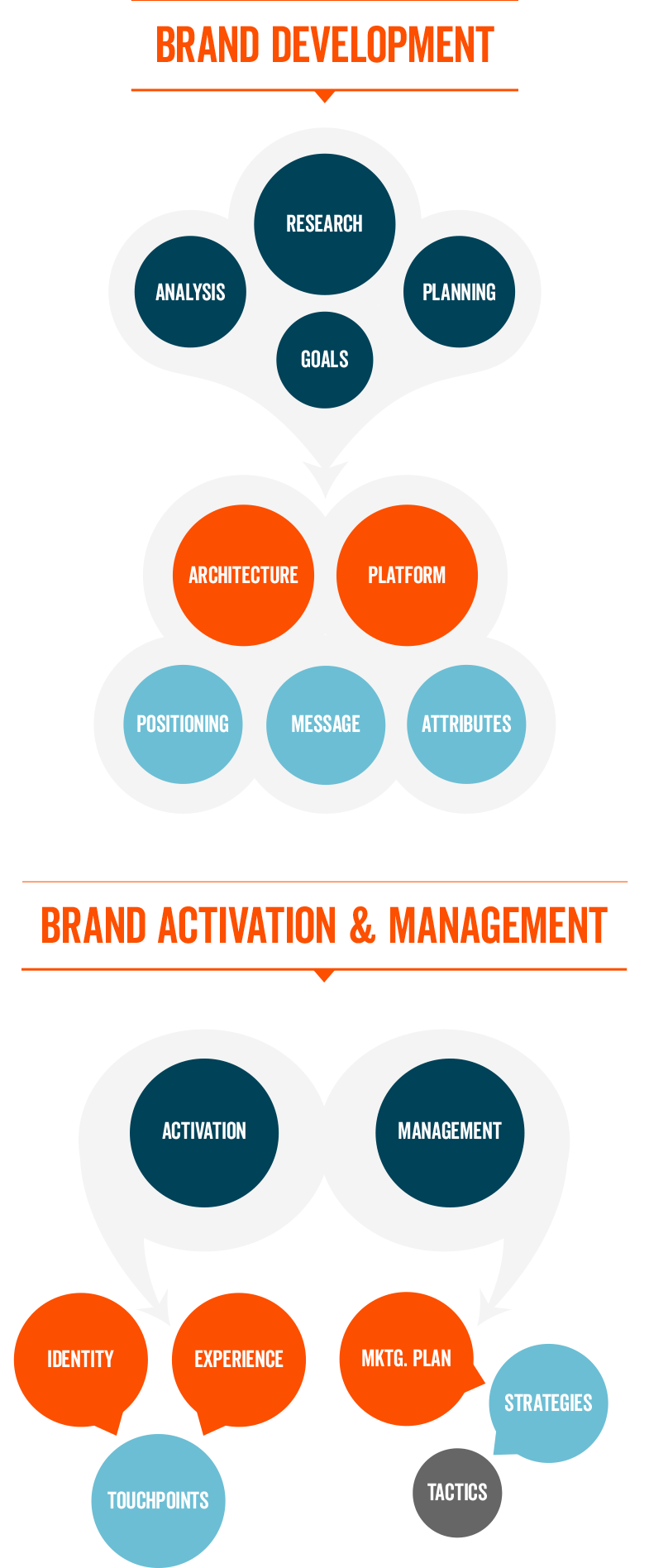 brand strategy, activation and management