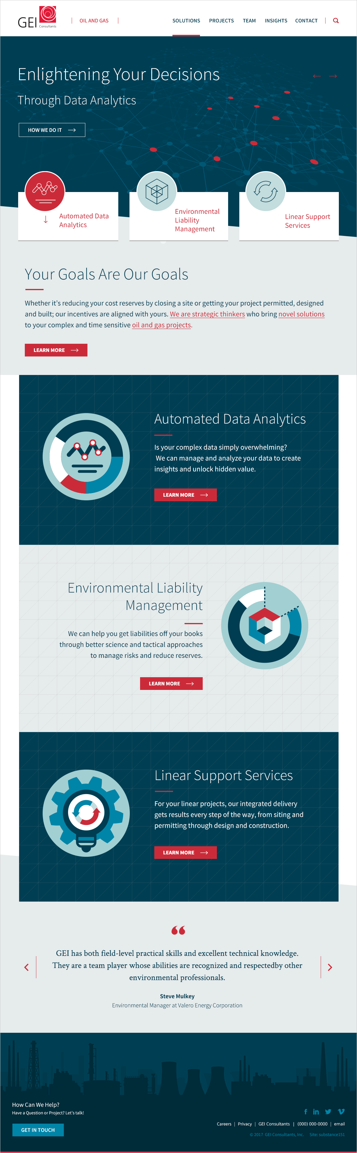 GEI Oil and Gas Microsite