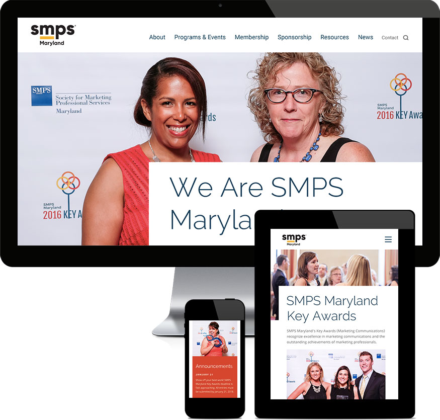 SMPS Maryland Website Awards