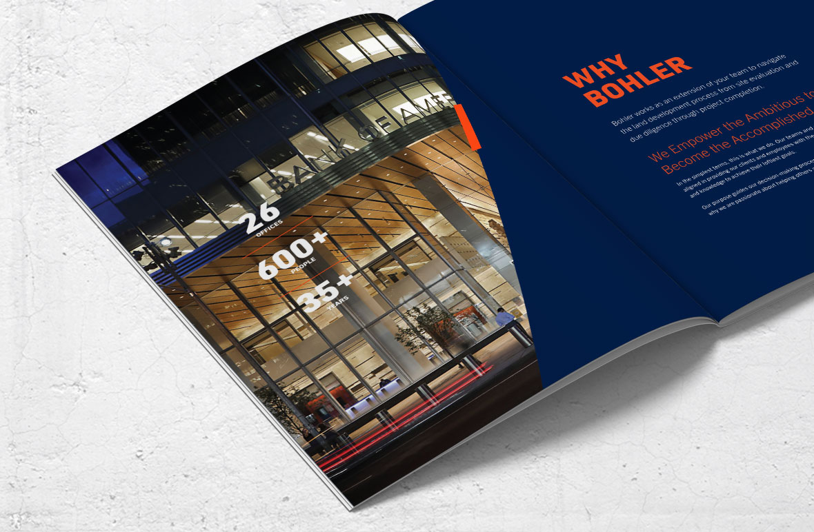 bohler collateral overview brochure